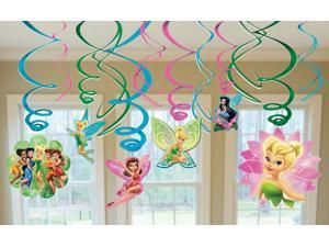 Disney Fairies Hanging Swirl Value Pack - Green/pink