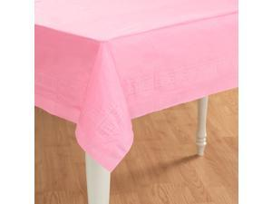Pink Tablecover - Plastic