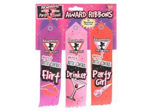 Bachelorette Award Ribbons - Polyester
