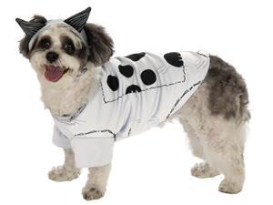 Frankenweenie Sparky Pet Costume - White - Large