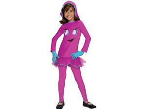 Pac Man Pinky Child Costume - Medium