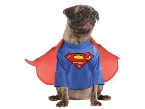 Dc Comics Superman Pet Costume - X-large