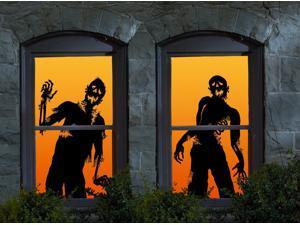 Halloween Ghoulies Window Clings - 854236001696