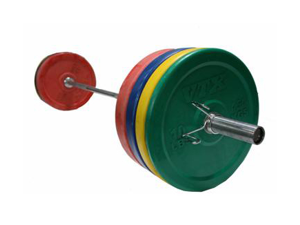 VTX 275lb Colored Bumper Weight Set