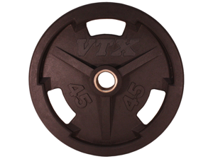 VTX Olympic Rubber Encased 45lb Grip Plate