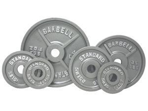 USA Sports Grey Olympic 355lb Plate Set