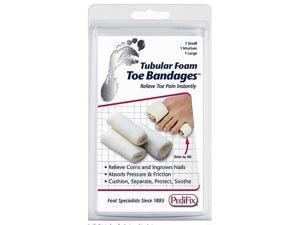 PediFix Tubular Foam Toe Bandages 3/Pack
