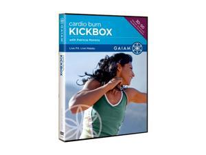 Gaiam Cardio Burn Kickbox DVD