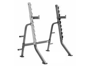 XMark Comm Multi Press Squat Rack with Plate Weight Storage