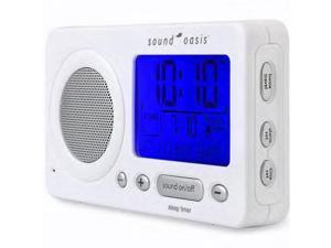 Sound Oasis Travel Sleep Sound Therapy System - White