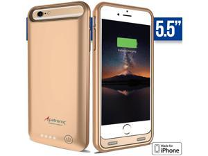 iPhone 6S Plus Battery Case - Alpatronix [Apple MFi Certified] 4000mAh External, Protective iPhone 6S Plus Extended Battery Case with Ultra-Slim Removable, Rechargeable iPhone 6S Plus Charging Case