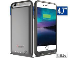 iPhone 6S Battery Case - Alpatronix iPhone 6S Battery Case [4.7 Inches] - MFi Apple Certified 3100mAh External iPhone 6S Battery Case Removable, Rechargeable Protective iPhone 6S Charging Case