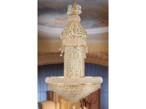 "French Empire Crystal Chandelier Chandeliers Lighting H50"" x W30"""