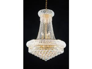 """French Empire Crystal Chandelier Lighting H 20"""" W 16"""""""