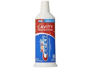 Crest 6 Pack Kid's Cavity Protection Neat Squeeze Sparkle Fun Flavor Toothpaste 6 Oz (Pack Of 6) B001F51Q7K