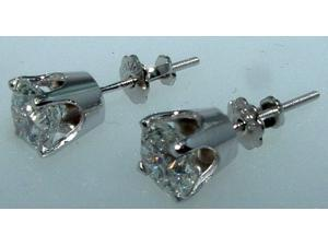 BEAUTIFUL F VS1 1.05 ct. DIAMOND STUDS EARRING studs earrings