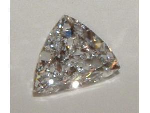 0.50 carat trilliant cut loose diamond triangle diamond