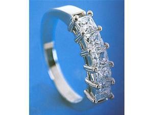 2.5 carat HIGH BRILLIANCE diamond ring princess cut