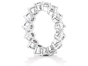 3.75 ct. diamonds eternity wedding band women½s jewelry