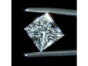 2 carat princess cut loose diamond F VS1 sparkling diamond
