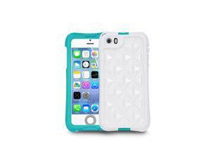 aXtion Go, Rugged Water-resistant Case with Air Cushion Design for iphone 5/5S, Touch ID Compatible (Turquoise)
