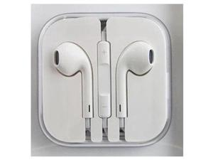 2 Pack Earbuds with Control Talk Mic + Volume - White - For iPhone 3G 4 4S 5 5C 5S iPad