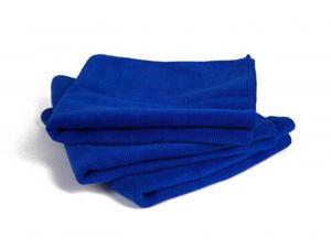 4 Pcs Blue 30*30cm Auto Care Microfibre Cleaning Sponge Cloths Magic Household Glasses Kitchen Wash Towels Duster