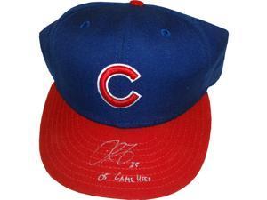 Derrek Lee Game Used Hat