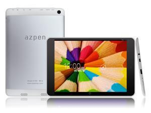 "Refurbished: Azpen A785R 7.85"" Quad Core Android Tablet - White/ Silver"