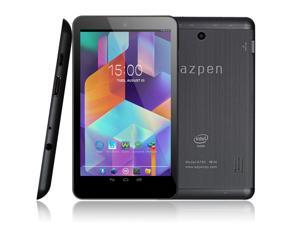 Azpen A750 Intel Quad Core Android 5.1 Lollipop tablet 7 inch HD LCD 1GB RAM & 8GB Storage Bluetooth HDMI Dual cameras Ebook ...