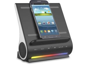 Azpen D100 Dock-All-in-One Docking Wireless Charging Station Bluetooth Speaker Multi-Device Multi Ports