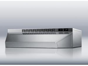 Summit  H1642SS:  42  inch  wide  convertible  range  hood  for  ducted  or  ductless  use  in  stainless  steel  finish