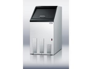 Summit  BIM70:  Undercounter  auto  defrost  icemaker  for  built-in  or  freestanding  use,  makes  65  lbs.  of  clear