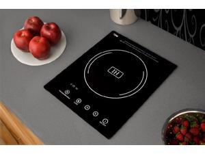 Summit  SINC1110:  Built-in  induction  cooktop  with  single  zone,  1800  Watts,  120  Volts,  and  Black  Ceran  &tra