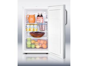 Summit  FF511LSSTBADA #58;  ADA  Compliant  20   wide  counter  height  all-refrigerator,  auto  def