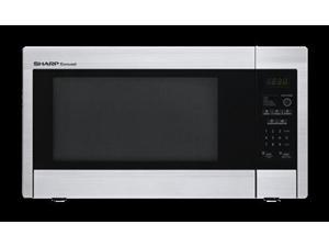 Sharp  R331ZS:  1.1  cu.ft.,  1000w  Touch  Mid-size  Countertop  Microwave