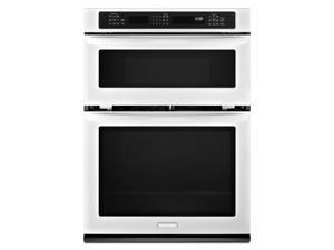 Kitchenaid  KEMS309BWH:  30-Inch  Convection  Combination  Microwave  Wall  Oven,  Architect  ®  Series  II  -  Whit