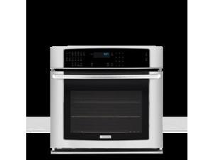 """27"""" Single Electric Wall Oven with 3.5 cu. ft. 3rd Element Convection Oven, Self-Cleaning, 7 Cooking Modes, Luxury-Glide Rack and IQ-Touch Controls: Stainless Steel"""
