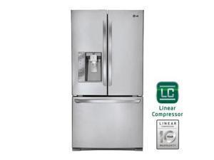 Lg  LFXC24726S:  24  cu.ft  Ultra-Capacity  3  Door  French  Door  Refrigerator