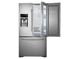 "Samsung  RF23HTEDBSR:  36""-Wide,  23  cu.  ft.  Capacity  Counter  Depth  3-Door  Food  ShowCase  Refrigerator  (Stainle"