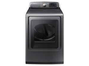 Samsung  DV52J8700EP:  DV8700  7.4  cu.  ft.  Large  Capacity  (Electric)  Front  Load  Dryer  (Platinum)