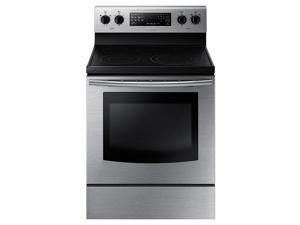 Samsung  NE59J3420SS:  NE59J3420SS  Electric  Range  with  Fan  Convection  (Stainless  Steel)