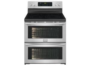 Frigidaire  FGEF306TPF:  Frigidaire  Gallery  30''  Freestanding  Electric  Double  Oven  Range