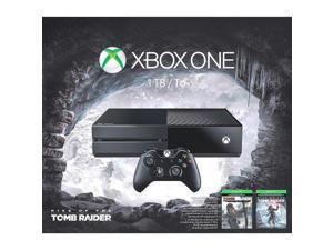 Xbox One 1TB Console : Rise of the Tomb Raider Bundle