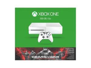 Xbox One 500GB White Console - Gears of War: Special Edition Console Bundle
