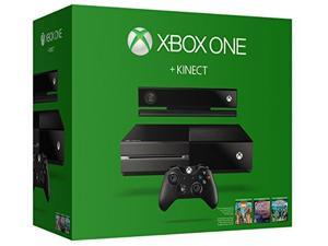 Xbox One 500GB Kinect Holiday Console Value Bundle with Dance Central Spotlight, Kinect Sports Rivals, and Zoo Tycoon