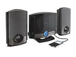 GPX HM3817DTBLK Home Music Hi-Fi System with AM/FM Tuner - LCD Display