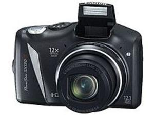 Canon PowerShot 4345B001 SX130 IS 12.1 Megapixels Digital - Camera - 12x Optical Zoom/4x Digital Zoom - 3-inch LCD Display - Black