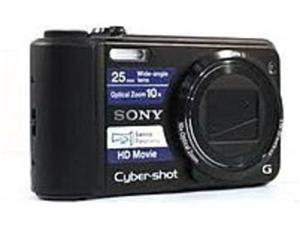 Sony Cyber-shot DSC-H70/B 16.1 Megapixels Digital Camera - 2x Digital Zoom/10x Optical Zoom - 3-inch LCD Display - USB, HDMI - Black