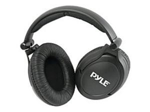 Pyle PHPNC45 High-Fidelity Noise-Canceling Headphones with Carrying Case - Over-the-head - Stereo - Mini-phone - Black